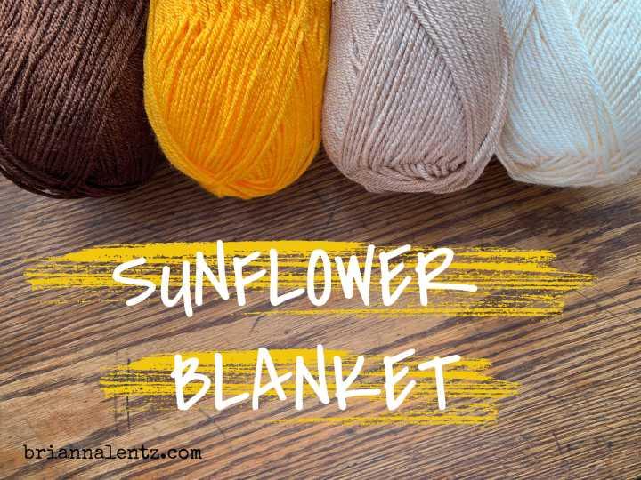 Crochet Sunflower Blanket ColorInspiration