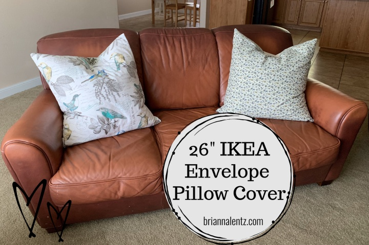 26 Inch IKEA Pillow Envelope Cover