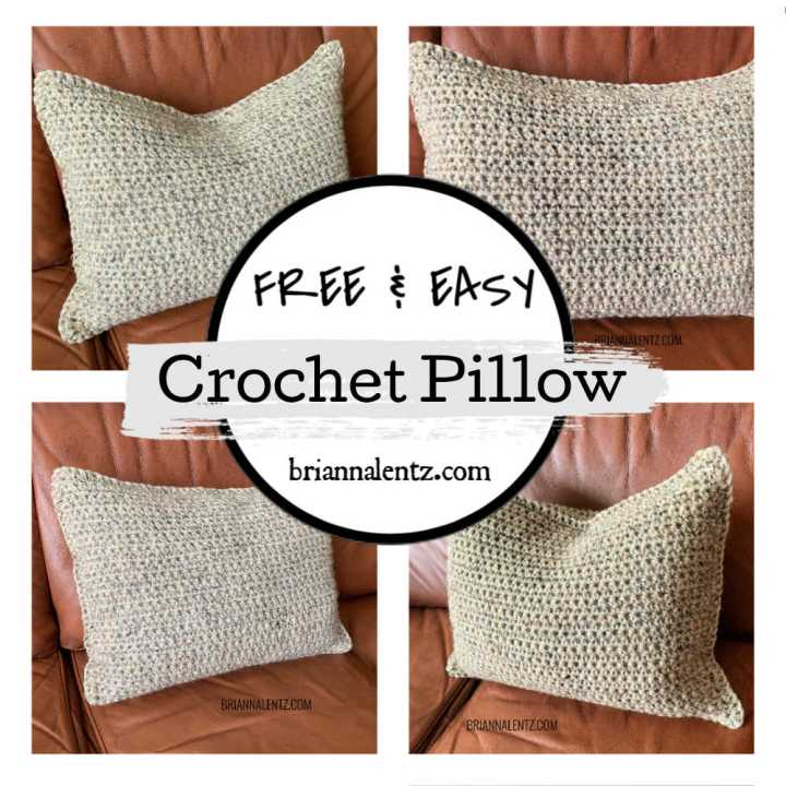 Free and Easy Crochet Pillow