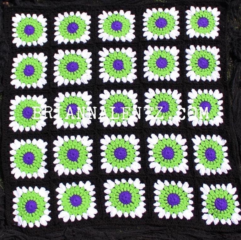 Beetlejuice Crochet Blanket Photo 1