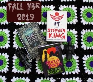 Fall Books TBR 2019