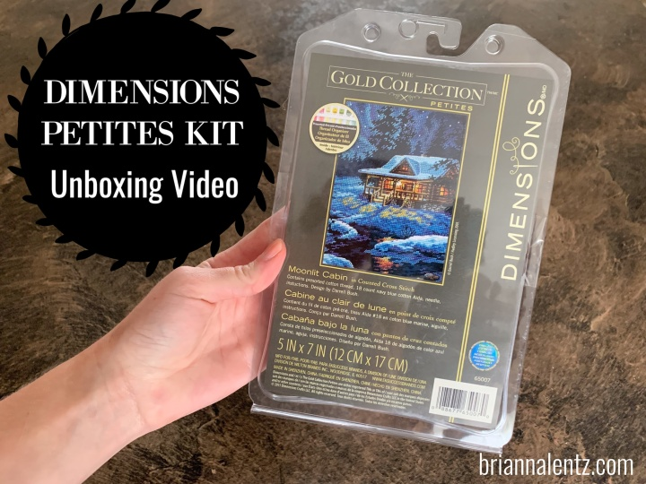 Dimensions Gold Collection Petites Moonlit Cabin UnboxingVideo
