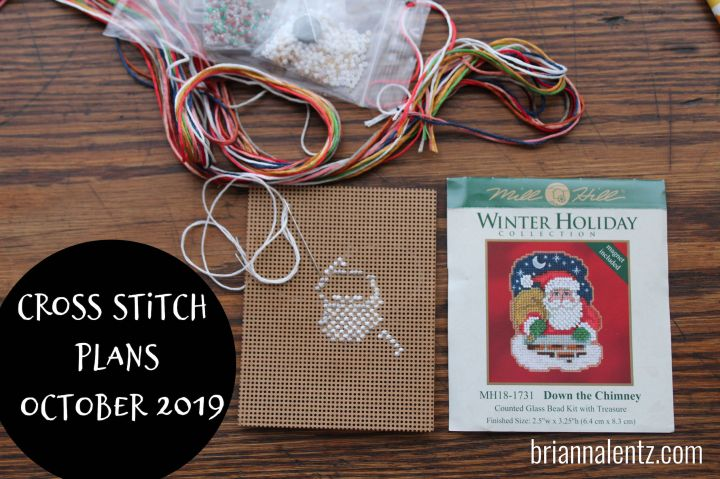 Cross Stitch Plans October 2019
