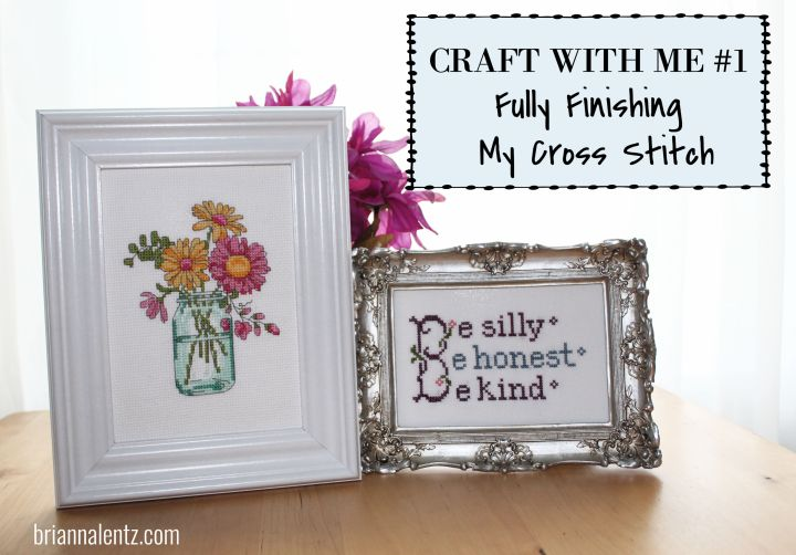 Craft With Me #1 is live onYouTube!