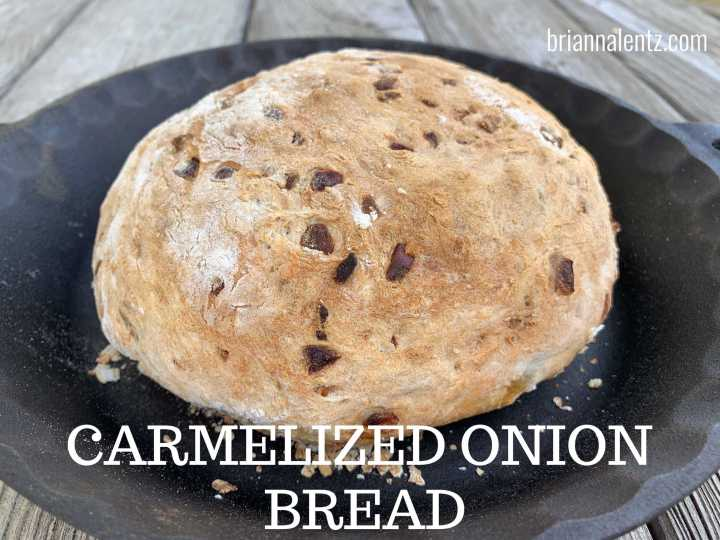 Easy Caramelized Onion Bread Recipe