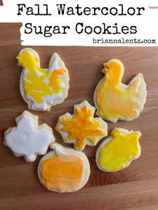 Fall Watercolor Sugar Cookies 6 Main