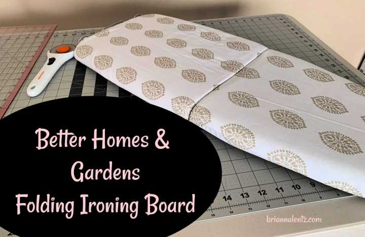 Better Homes and Gardens Folding Ironing Board