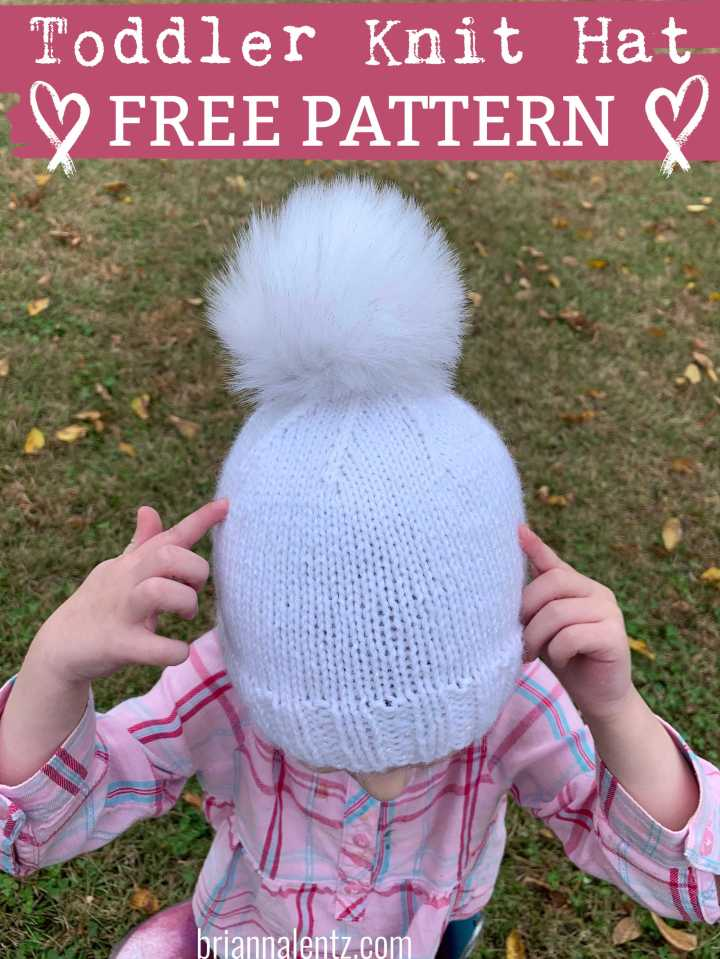 FREE PATTERN: Toddler Knit Hat