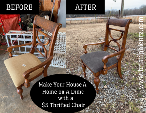 Before and After Chair 5