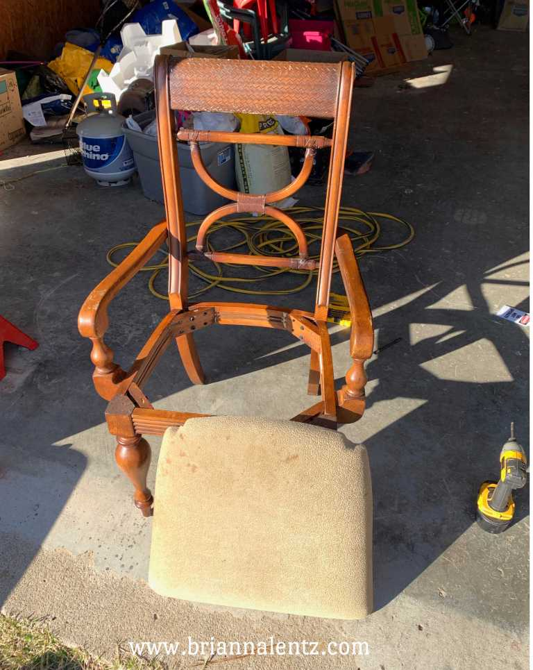 Before and After Chair 8