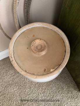 Eagle Pottery 3 Gallon Crock Benton Arkansas lid