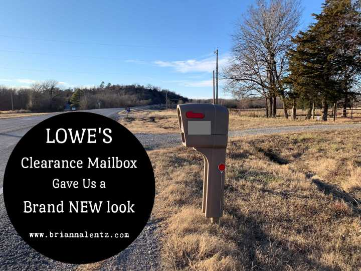 Lowe's Clearance Mailbox Gave Us a Brand New Look