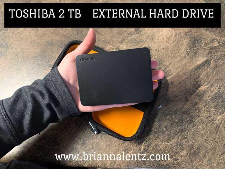 Toshiba 2 TB External HardDrive